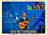 Dave Matthews Band in Vancouver BC