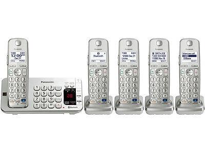 Panasonic KX-TGE275S Cordless phone Link2Cell Bluetooth  5 Handset