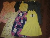 Girls Size 5 Summer Dress Lot