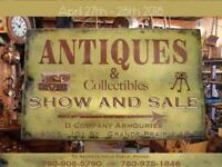 2018 ANTIQUE & Collectables Show and SALE: D-Company Armouries