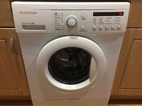 Daewoo DWDG1241 8Kg 1200rpm Spin Washing Machine * Very Good Condition * Must See *