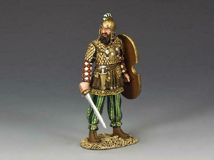 King & Country AG016 The Army of Darius Officer - RETIRED - Mint in the Box