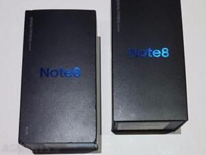 SAMSUNG NOTE 8 64GB BLACK BRAND NEW SEALED