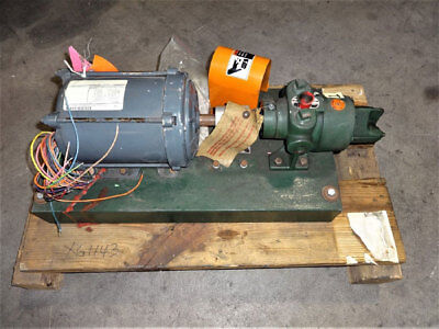 Roper Pump Type 27 Fig 26 G 10 With Ge Motor 1 Hp Model 5k43pg8094fx