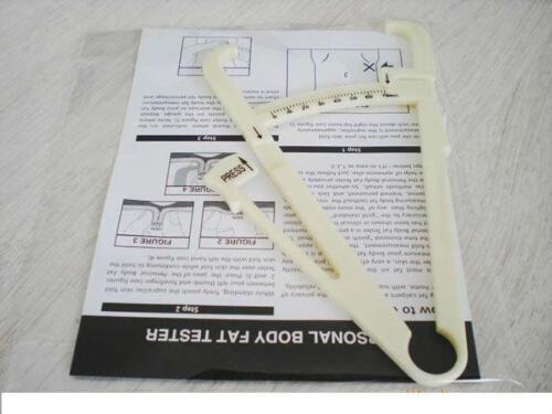 rongweiwang Manuale Retrattile Grasso corporeo pinze Strumento di Misura Vita affidabile teater Vita Peso Salute Tester