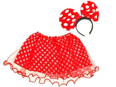 Kleidung Party Fairy Kostüm Mädchen  Prinzessin Kostümfest Minnie Maus NEU