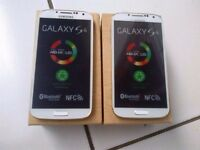 SAMSUNG GALAXY S4 UNLOCKED BRAND NEW COMES WITH WARRANTY & ALL ACCESSORIES