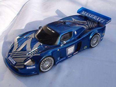 1/10 Scale Maserati MC12 rc car body 200mm tamiya losi traxxas kyosho 0407