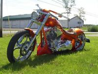 Custom Chopper Harley Davidson