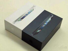Apple iPhone 5 16/32unlocked brand new box accessories &Warranty