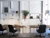 Affordable Fixed Desk Seconds from Stoke Newington Station just £220 per month - Friendly Cowork