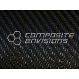 "Blue Reflections™ Carbon Fiber Fabric 2x2 Twill 50"" 3k 5.9oz"