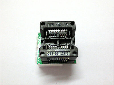 Soic Sop8 To Dip8 Programmer Adapter Socket Wide 200mil 208mil