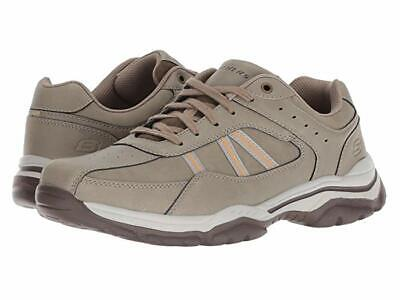 SKECHERS RELAXED FIT ROVATO TEXON MENS SNEAKER SHOES KHAKI  SZ 7.5 OR 8.5-NWT