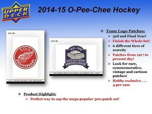 2014-15 Upper Deck O-Pee-Chee Hockey Trading Cards Box Kitchener / Waterloo Kitchener Area image 5