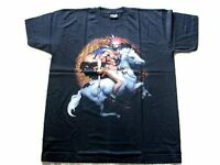 Mens Indian Warrior T Shirt XL - Brand new Biker T shirt - Indian Eagle Print