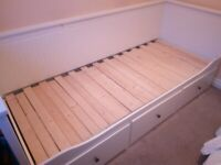 Ikea Hemnes Daybed with 3 drawers (single or double bed)