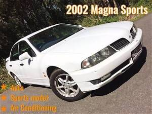 2002 Mitsubishi Magna Sports Sedan Mount Gravatt East Brisbane South East Preview