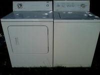 Inglis Dryer and Kenmore Washer : drop-off possible