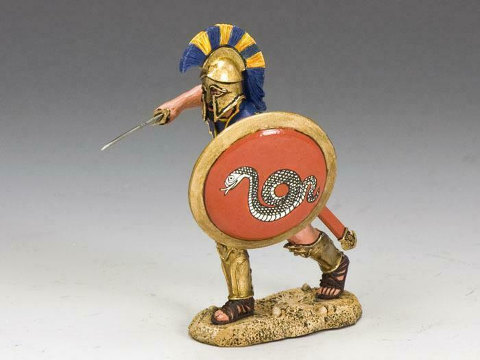 King & Country AG011 Attacking Swordsman - RETIRED - Mint in the Box
