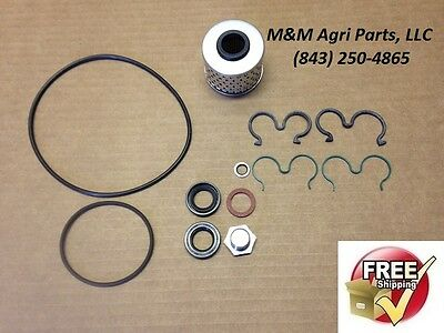 Used, POWER STEERING PUMP FILTER & KIT MASSEY FERGUSON 240 253 263 360 20F 40E TRACTOR for sale  Shipping to India