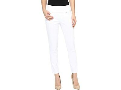 WHITE JAG JEANS, SLIM ANKLE HIGH RISE PULL ON JEANS, PULL ON JAG JEANS VGC 10P