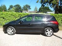 Peugeot 207 Sport, Year 2009, only 45,000miles, automatic gear