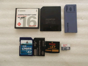 Looking for memory cards
