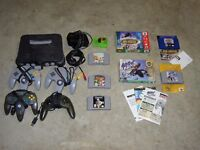 wanted - NINTENDO 64 / N64 console & games
