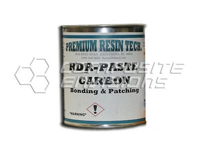 Rdr-paste-carbon - Carbon Fiber Filled Epoxy Bonding And Patching Paste Quart