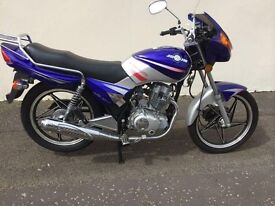 Jinlun rs125 new unregistered full mot only £650