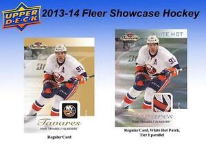 2013-14 Upper Deck Fleer Showcase Hockey Cards Hobby Box Kitchener / Waterloo Kitchener Area image 6