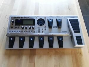 BOSS GT-10 Guitar Effects Processor