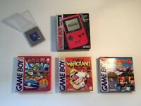 Gameboy pocket with games