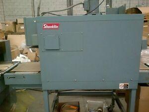 Used Shrink Wrap Machine - Shanklin Model T7F Shrink Tunnel (53)