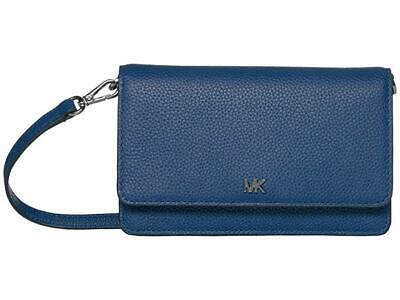 New Michael Kors Sapphire Blue Phone Crossbody handbag (Blue Michael)