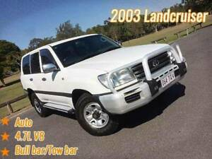 2003 Toyota Landcruiser GXL Auto 4x4 Mansfield Brisbane South East Preview