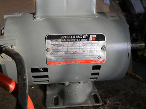 PRICE DROPPED -- 1 HP 115/230 Electric Motor