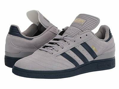 Adidas Busenitz Light Granite Grey Navy Blue Gold Sz 10 (Granit Grey)