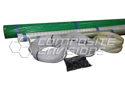 Carbon Fiber Vacuum Infusion Starter Kit - Small Kit
