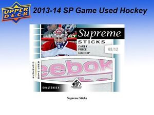 2013-14 Upper Deck SP Game Used Hockey Hobby Box Kitchener / Waterloo Kitchener Area image 6