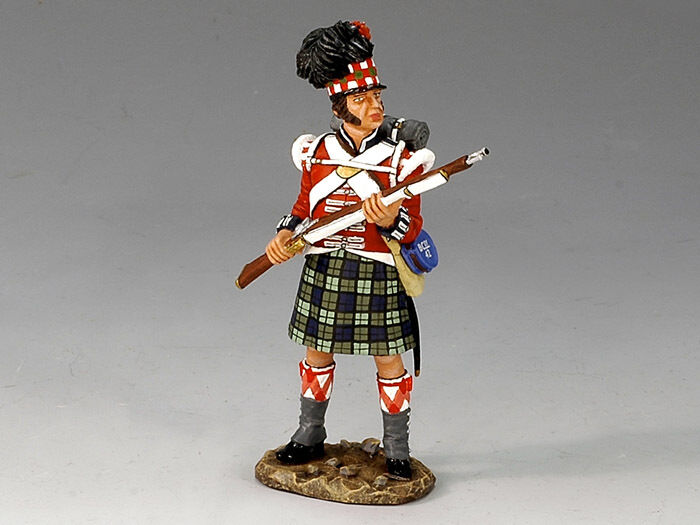 King and Country NA169 - Napoleonic Standing to Repel New in Box
