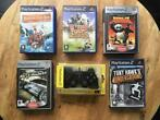Sony PlayStation 2 - Video Games + sealed controller (16) -