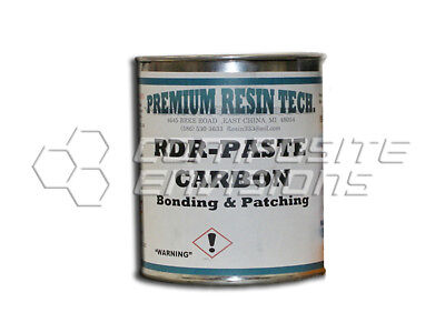 Rdr-paste-carbon - Carbon Fiber Filled Epoxy Bonding And Patching Paste Gallon