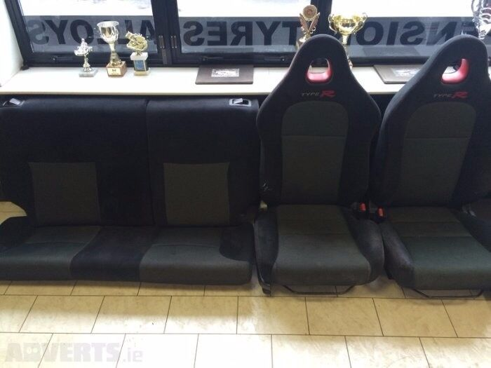 Honda Civic Type R Ep3 Full Interior Set Sport Front Seats And Rear Seat In Braintree