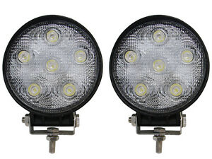 2~18W CREE LED Spot Fog Driving Work Light Lamp Truck Roof Bar Off-Road 4X4 UTV