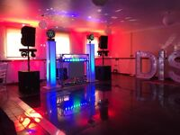 Wedding/function DJ and disco hire or PA hire
