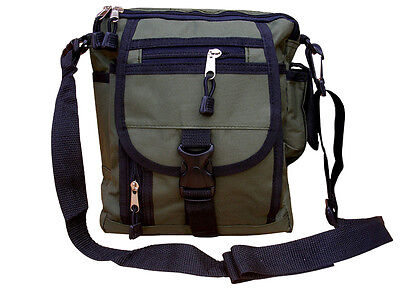 Mens Military Combat Army Travel Shoulder Bag Surplus Messenger Zip Camera Pouch