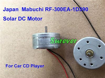 Mabuchi Rf-300ea-1d390 Dc 1.5v-6v Mini Solar Power Motor Car Av Dvd Cd Player