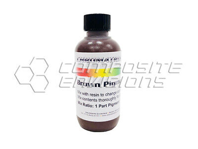 (Pigment - Brown for epoxy and polyester resin 2oz)